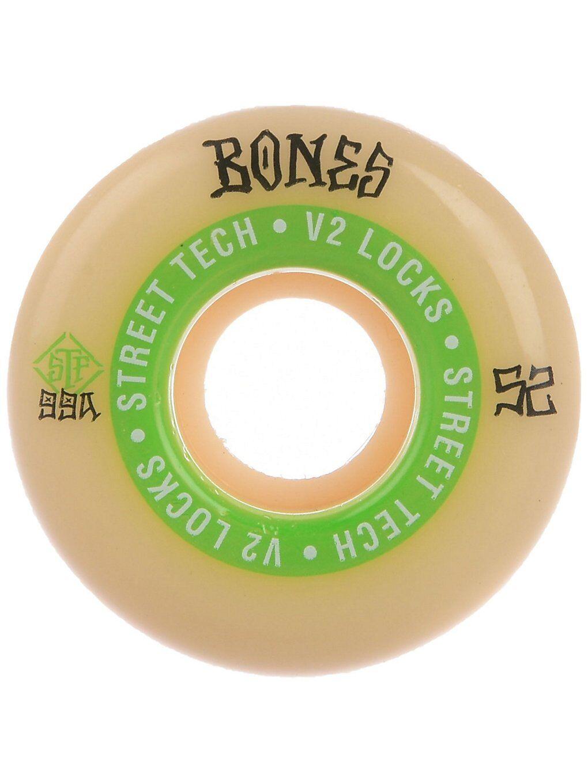 Bones Wheels STF Ninety Nines 99A V2 Locks 52mm Wheels valkoinen