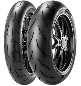 Pirelli Diablo Rosso Corsa ( 190/50 ZR17 TL (73W) takapyörä, M/C )
