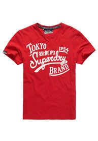 Superdry Tokyo Brand -t-paita