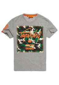 Superdry City Brand Camo -t-paita