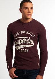 Superdry Pitkähihainen Heston-t-paita