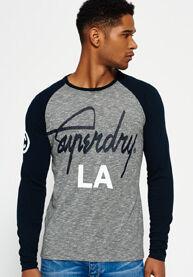 Superdry Olkahihainen City Brand -t-paita