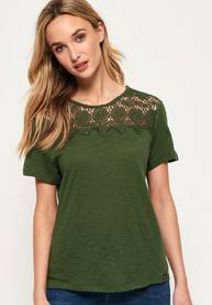 Superdry Beach Lace -T-paita