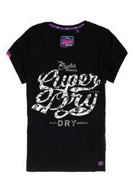 Superdry Osaka Brand Infill -t-paita