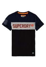 Image of Superdry Lyhythihainen Applique Colour Block -t-paita