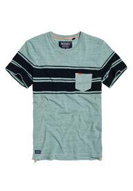 Image of Superdry Lyhythihainen taskullinen Dry Originals Stripe -T-paita
