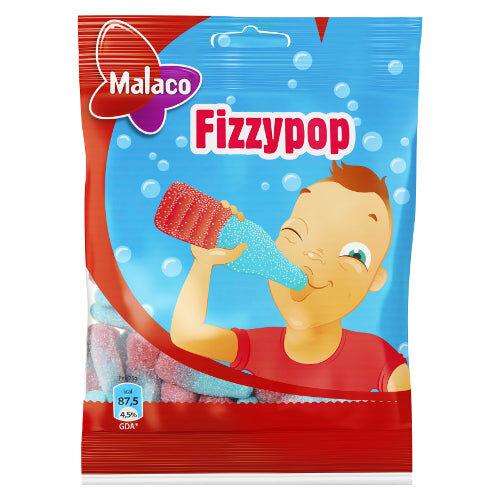 Maxikarkki Makeispussit Malaco Fizzypop (450g)