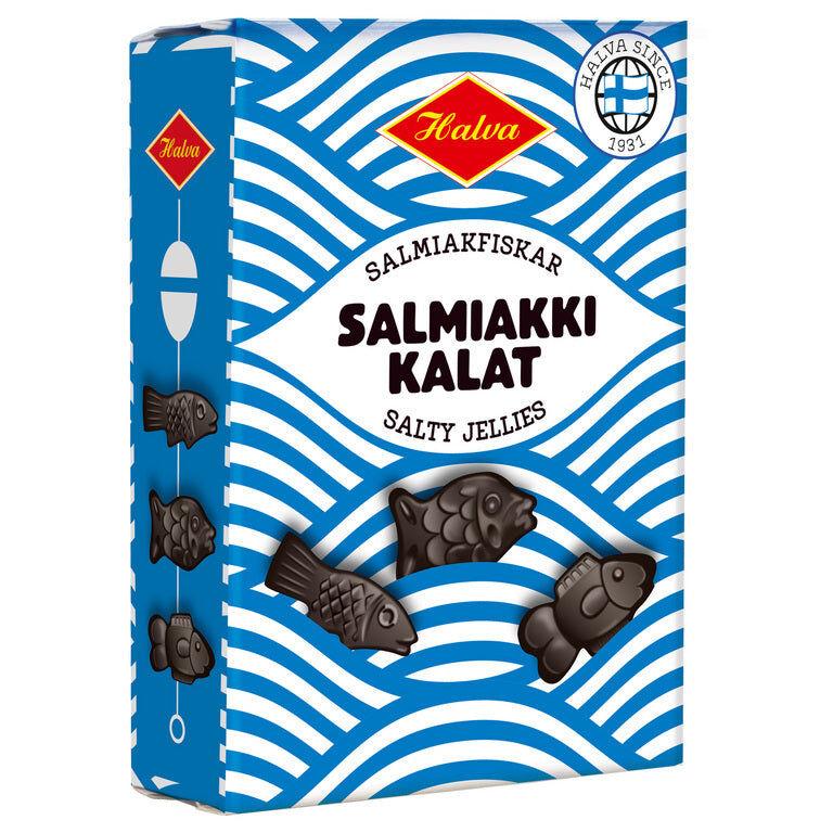 Halva Salmiakkikalat (240g)