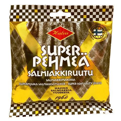 Halva Super Pehmeä Salmiakkiruutu (100g)