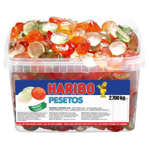 Haribo Pesetos (2,7kg)