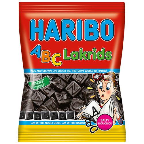 Haribo ABC Lakrids (120g)