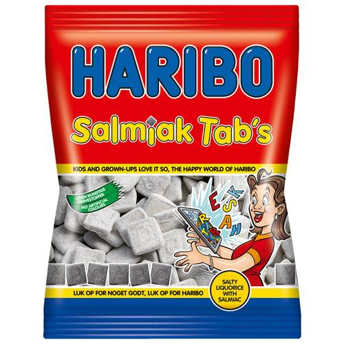 Haribo Salmiak Tabs (120g)