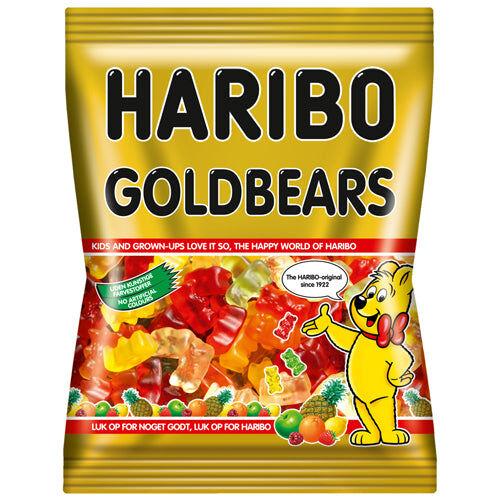 Maxikarkki Makeispussit Haribo Goldbears (500g)