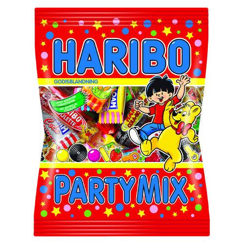 Maxikarkki Makeispussit Haribo Party Mix (250g)
