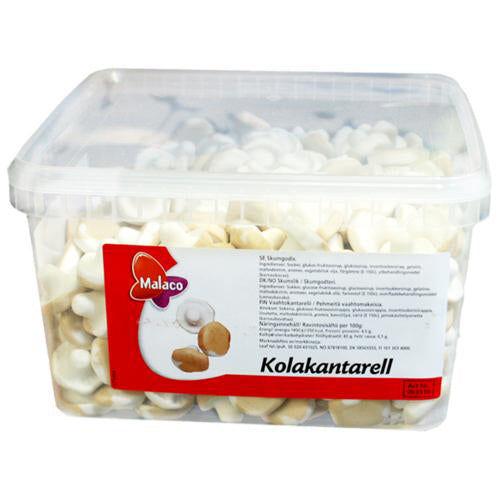 Maxikarkki Irtokarkit Malaco Cola Vaahtokantarelli (0.9kg)