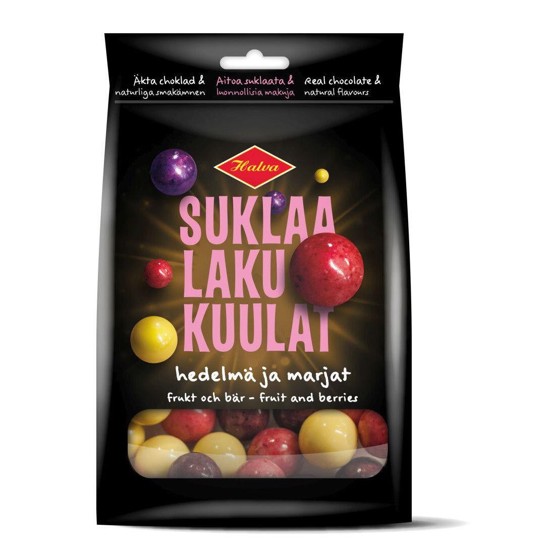 Halva SuklaaLakuKuulat Hedelmä & Marja (140g)