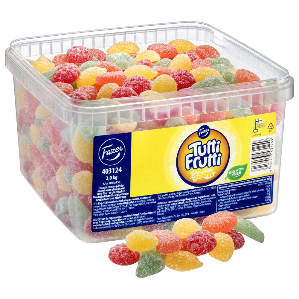 Maxikarkki Fazer Tutti Frutti Sour (2kg)