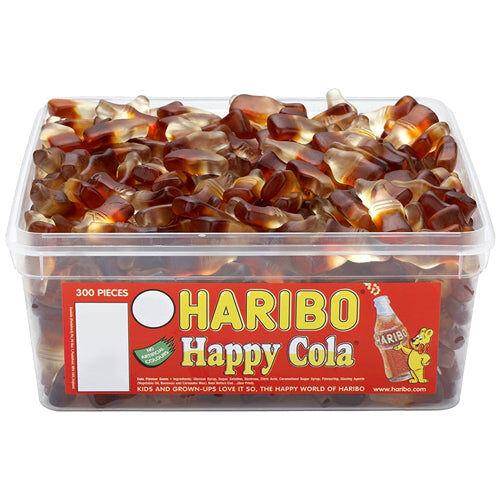 Maxikarkki Irtokarkit Haribo Happy Cola (2,7kg)