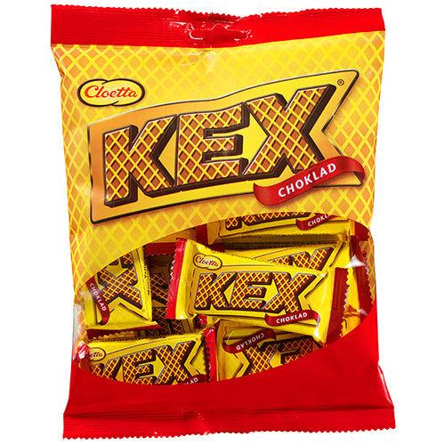 Maxikarkki Makeispussit Cloetta Kex Choklad (156g)