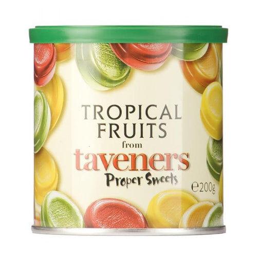 Maxikarkki Makeispussit Taveners Tropical Fruits (200g)