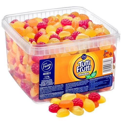 Maxikarkki Irtokarkit Fazer Tutti Frutti Original (2,2kg)