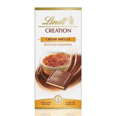 Maxikarkki Suklaa LINDT Création Crème Brûlée (150g)