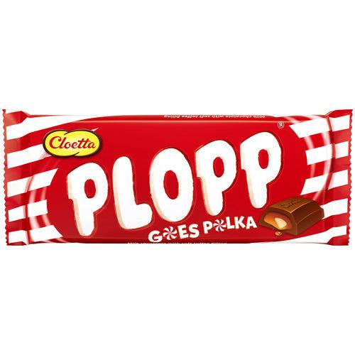 Maxikarkki Cloetta Plopp Polka (80g)