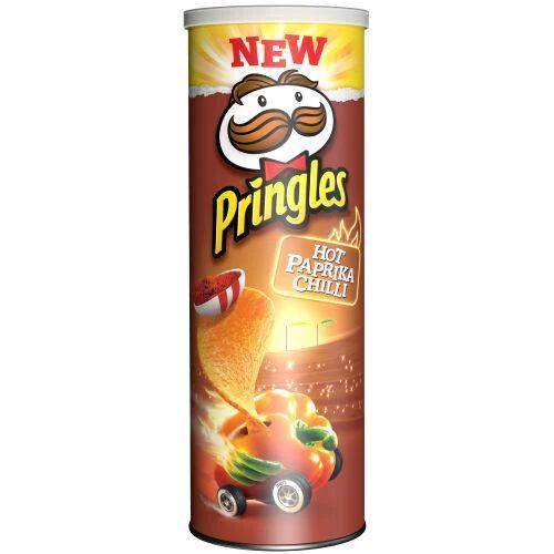 Maxikarkki Sipsit Pringles Hot Paprika Chilli (190g)