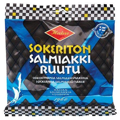Halva Sokeriton Salmiakki (90g)
