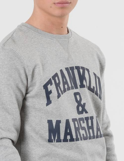Marshall Franklin & Marshall, F and M Sweater 2, Harmaa, NEULEET/NEULETAKIT till Pojat, 14-15 vuotta