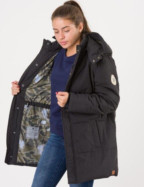 Scotch Shrunk, Padded jacket oversized, Musta, Takit / Fleecet / Liivit till Tytöt, 16 vuotta
