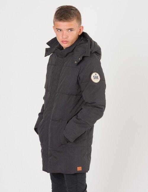Scotch Shrunk, Padded jacket oversized, Musta, Takit / Fleecet / Liivit till Pojat, 14 vuotta
