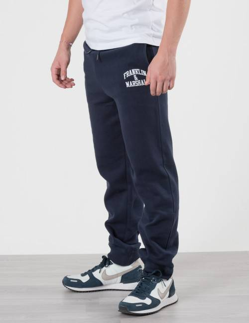 Marshall Franklin & Marshall, F and M Jogger Bottoms, Sininen, Housut till Pojat, 12-13 vuotta