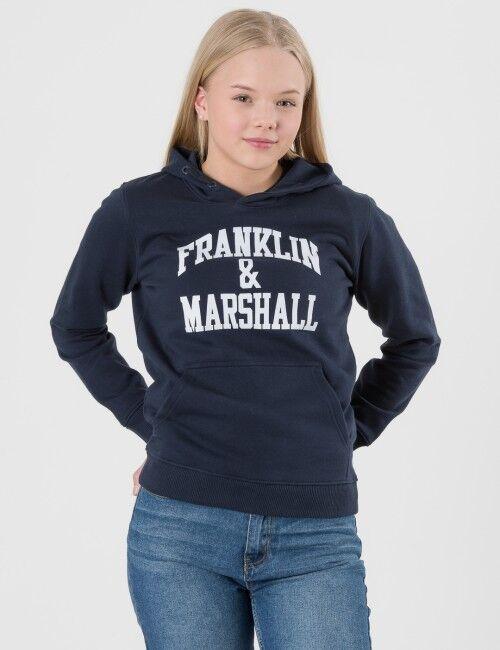 Marshall Franklin & Marshall, F and M Hoodie, Sininen, Hupparit till Pojat, 10-11 vuotta