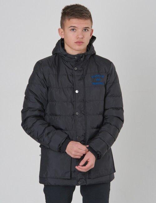 Marshall , Padded Jacket, Musta, Takit / Fleecet / Liivit till Pojat, 14-15 vuotta