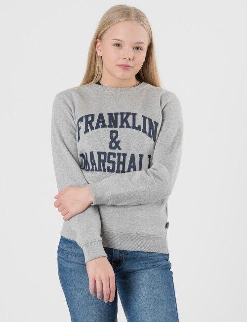 Marshall Franklin & Marshall, F and M Sweater 2, Harmaa, NEULEET/NEULETAKIT till Pojat, 8-9 vuotta