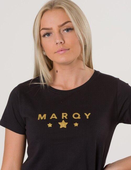Marqy Girl, AMIRA SS TEE, Musta, T-PAIDAT/PAIDAT till Tytöt, 122-128