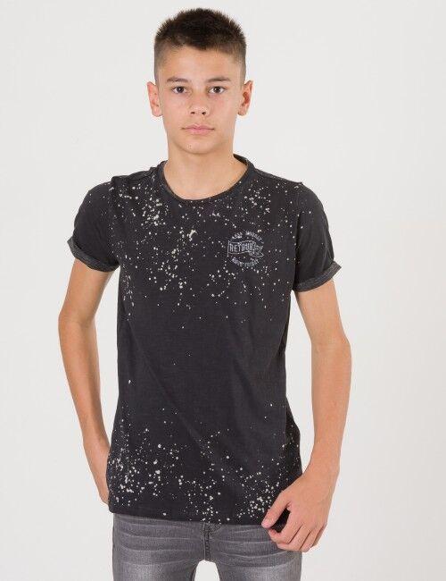 Retour, Easton T-shirt, Musta, T-PAIDAT/PAIDAT till Pojat, 13-14 vuotta