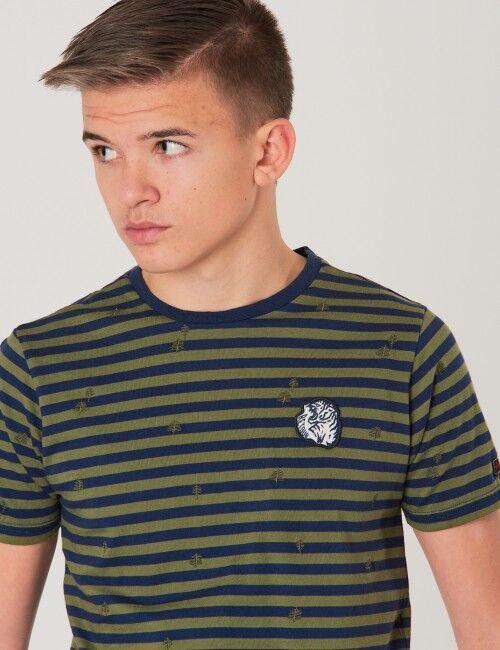 Retour, Kasper T-shirt, Vihreä, T-PAIDAT/PAIDAT till Pojat, 11-12 vuotta
