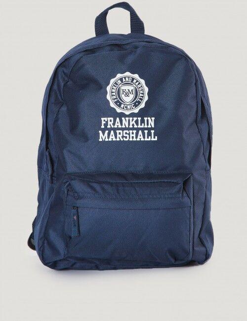 Marshall Franklin & Marshall, Franklin Back Pack, Sininen, LAUKUT/TOILETTILAUKUT till Unisex, One size
