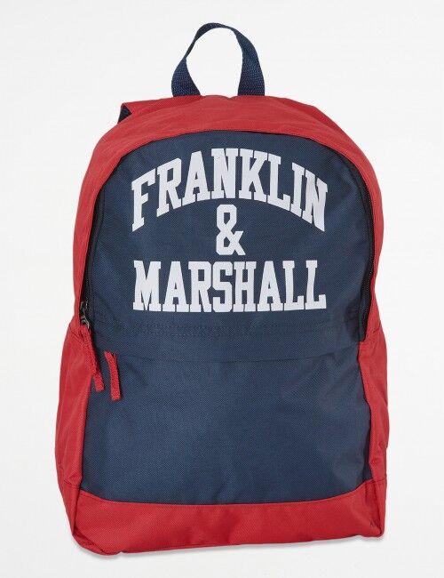 Marshall Franklin & Marshall, Franklin Blocked Back Pack, Sininen, LAUKUT/TOILETTILAUKUT till Unisex, One size