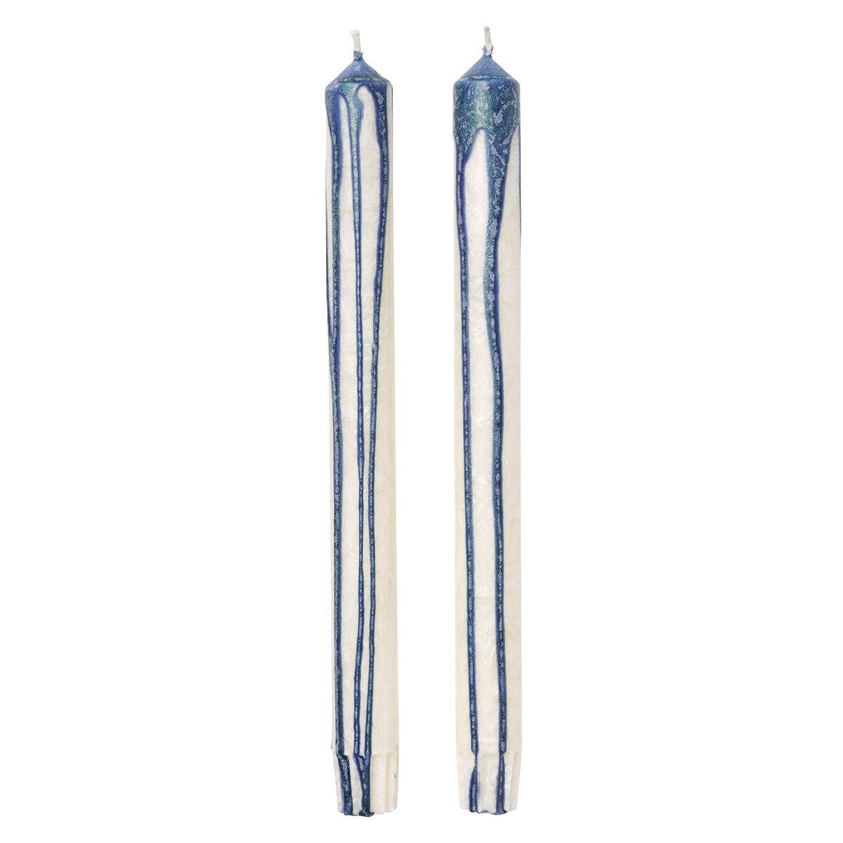 Ferm Living Duo kynttilä, 2 kpl, tummansininen