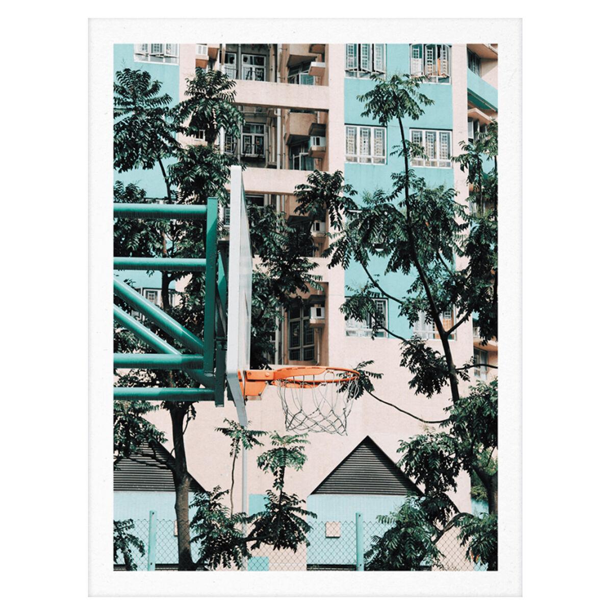 Paper Collective Cities of Basketball 01 (Hong Kong) juliste
