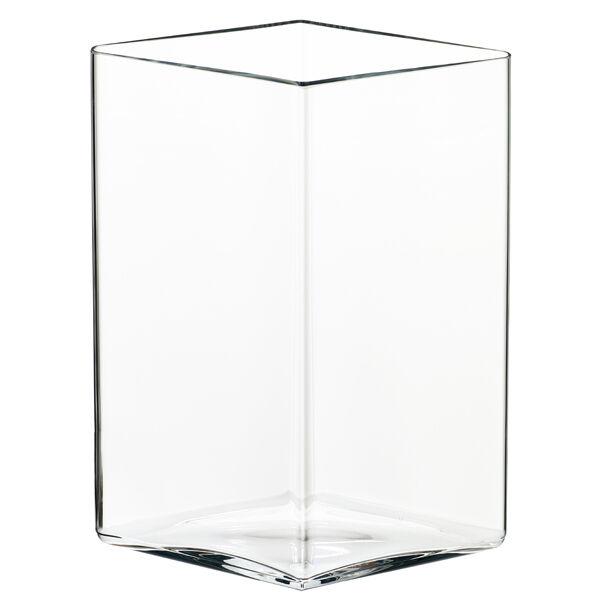 iittala Ruutu maljakko, 205 x 270 mm, kirkas