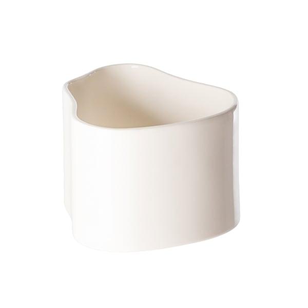 Artek Riihitie ruukku A, pieni, kiiltävä valkoinen