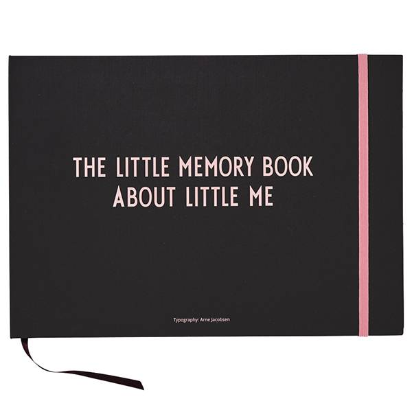 Design Letters The little memory book about little me, pinkki