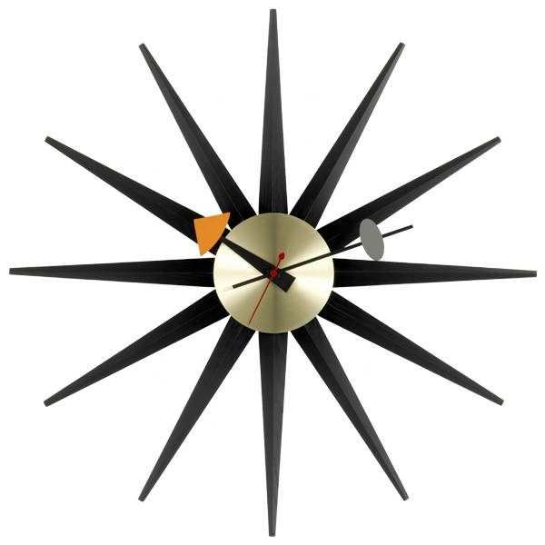 Vitra Sunburst Clock seinäkello