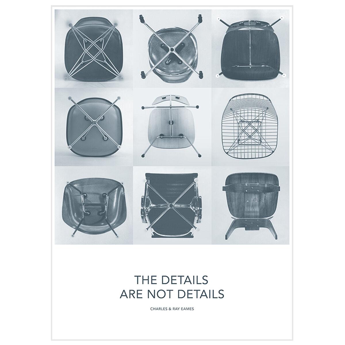 Vitra Eames Quotes juliste, Details