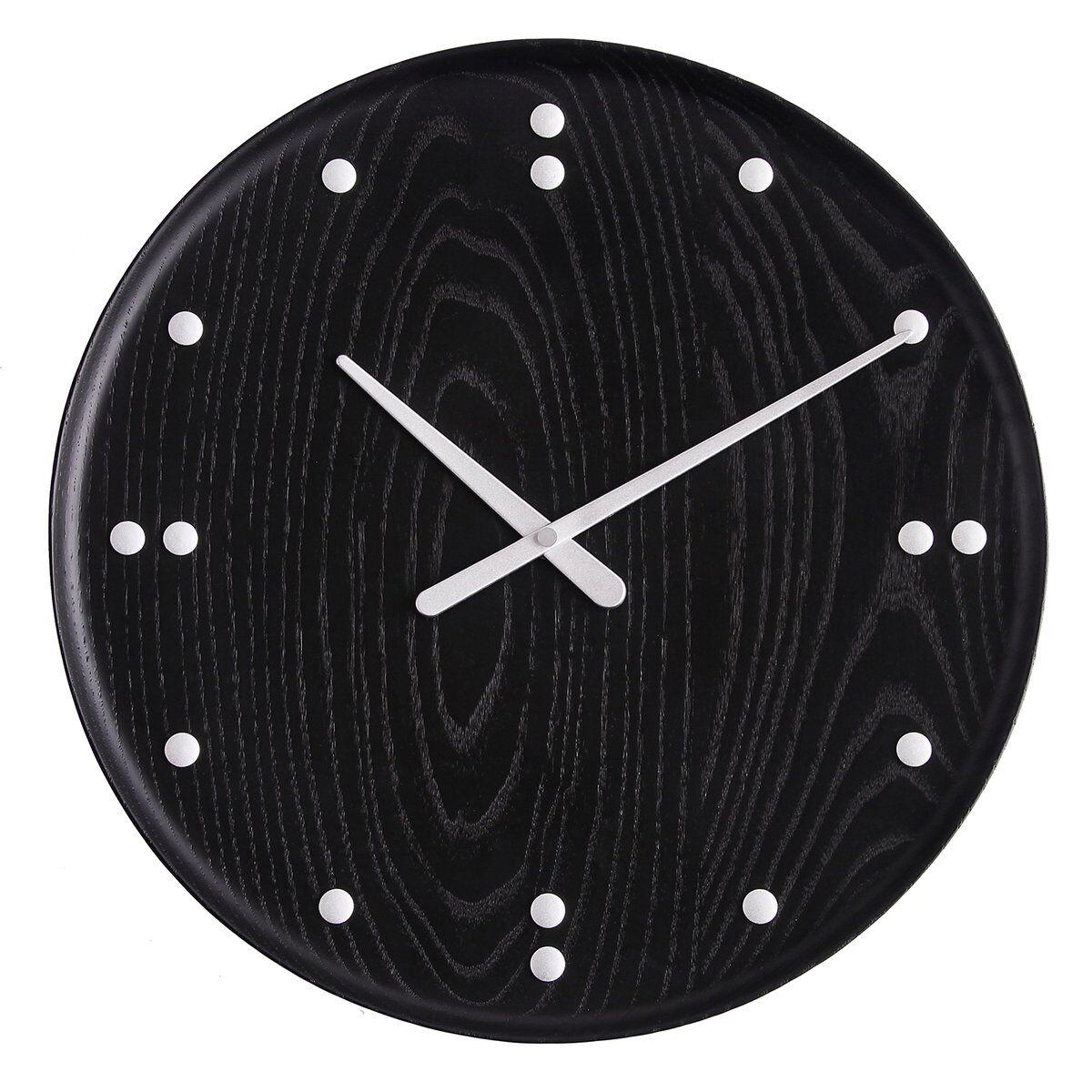 Architectmade FJ Clock seinäkello 35 cm, musta