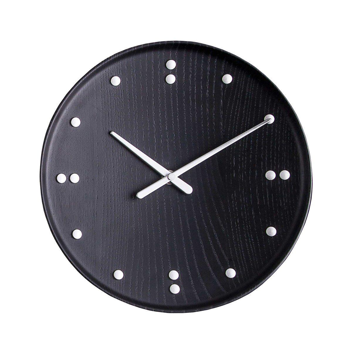 Architectmade FJ Clock seinäkello 25 cm, musta